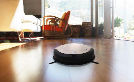 内置陀螺仪的扫地机器人,智能扫拖更干净