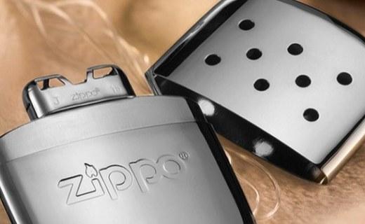 Zippo暖手炉打火机:白金触?#35762;闹?#25171;造,52度恒温24小时?#20013;?#21457;热