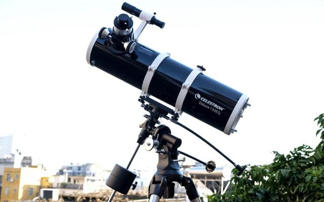 不用去天文馆,在家也能陪妹子近距离看星星 — 星特朗Deluxe 130EQ天文望远镜体验