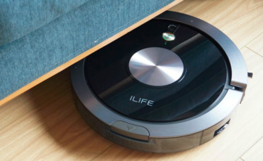 吸扫拖三效合一,解放人力全屋清洁,ILIFE智意导航扫地机器人测评