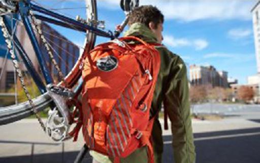 美国Osprey小背包运动工作都能背,舒适轻便帅到炸裂