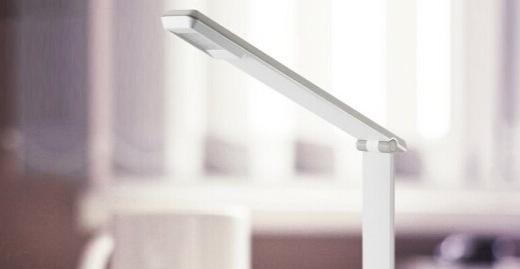 飞利浦LED台灯:五段调光舒适护眼,120度折叠自由射光