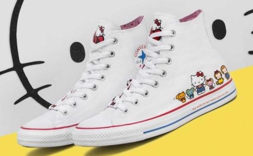 当Hello Kitty撞上匡威,这么萌的鞋你忍心穿吗?