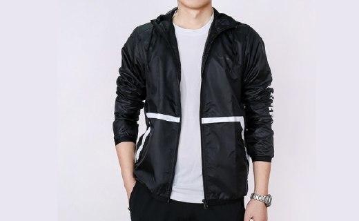 阿迪达斯NEO防风服:涤纶面料舒适透气,款式时尚百搭