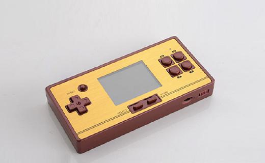 利乐普FC80掌上游戏机:内置600款经典游戏,支持双人对战