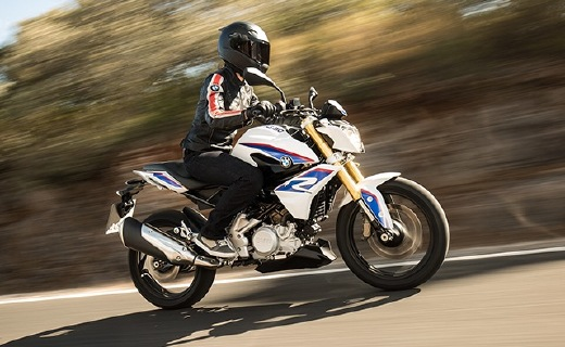 史上最便宜的宝马摩托车,萌妹子也能轻松驾驭
