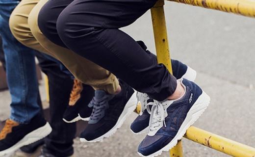 亚瑟士Gel-Lique休闲鞋:真皮网眼拼接,复古百搭舒适好穿
