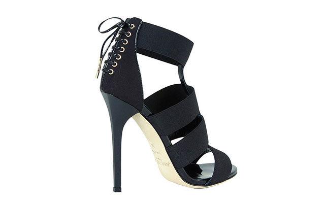 JimmyChoo系带装饰高跟鞋
