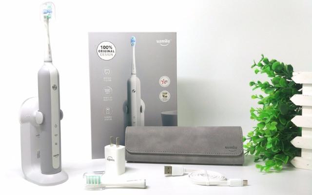 低噪音电动牙刷,多种刷头更专业的清洁牙齿 — usmile U1声波电动牙刷体验