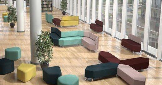 开放空间 让电子数字模块沙发布置更具特色