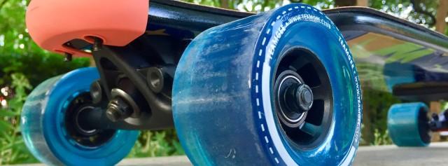 健身少女的追风日记——Teamgee电动滑板体验