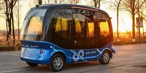 百度首款L4级别微型巴士下线:全智能形式!