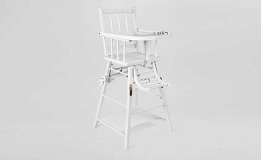 Zara Home儿童餐椅:榉木制造安全牢固,可变形设计一椅两用