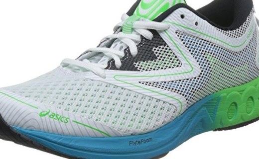 亚瑟士NOOSA FF跑鞋 :缓冲中底保护脚部,橡胶材质抓地力强