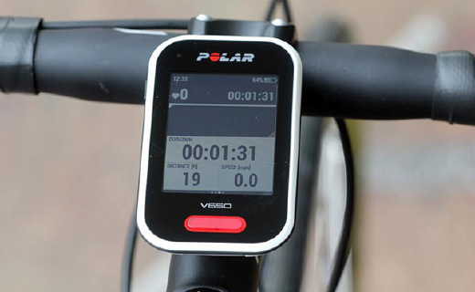 Polar V650 GPS骑行码表:2.8存全彩触摸屏,可下载地图规划路线