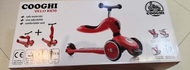 只恨自己少抢一辆,大宝二宝抢着玩的酷骑儿童滑板车