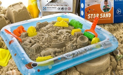 Joan Miro星空沙玩具:家中的小沙滩,天然材质更安全
