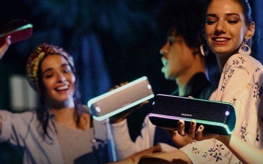 索尼SRS-XB31无线蓝牙音箱:支持NFC,闪亮灯效,持续续航