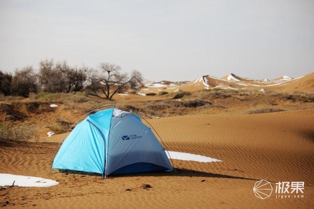 牧高笛冷山UL2帐篷,伴我追寻腾格里沙漠天鹅踪迹