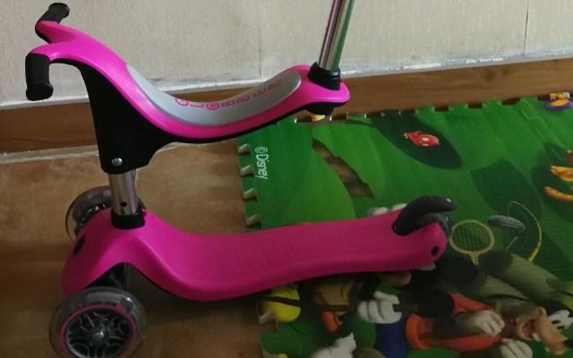 快乐童年幸好遇到你,法国高乐宝儿童滑板车体验