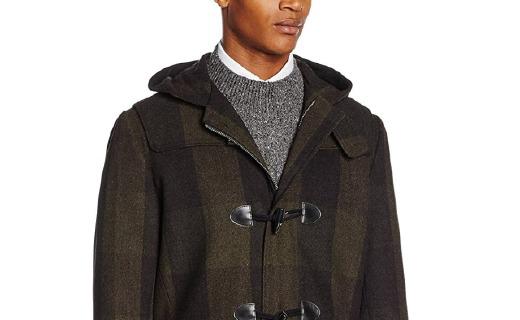 Original Penguin男士外套:羊毛面料保暖舒适,修身版型时尚简约