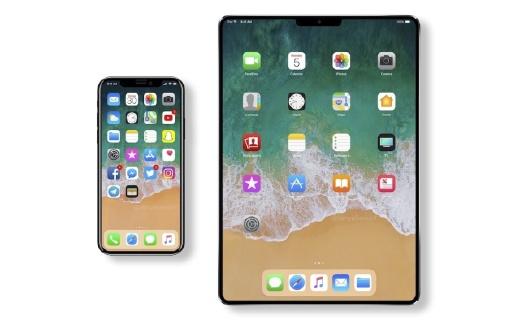 """全面屏iPad曝光:""""刘海""""更蠢萌,支持人脸识别"""