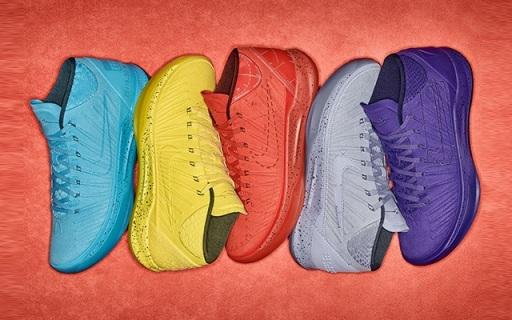 耐克Kobe AD Mid系列官网上架,五种颜色诠释曼巴精神