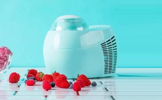 富信冰淇淋机:一键操作无需预冷,夏天吃冰淇淋更方便