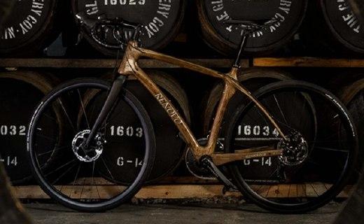 世界上第一架由威士忌酒桶打造的自行车,酷!
