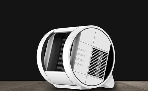 Windamp AF04暖风机:谷风技术加速空气循环,温度智能调节