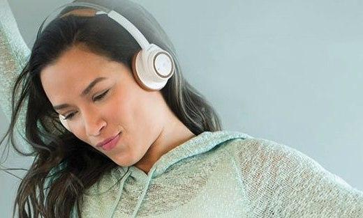 缤特力立体声蓝牙耳机:智能感应技术,轻巧设计头戴更舒适