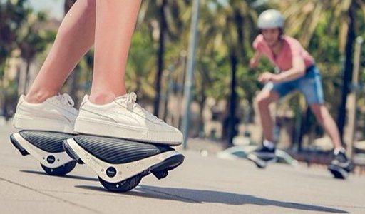 踩在脚下的风火轮:赛格威发布便携式电动平衡轮
