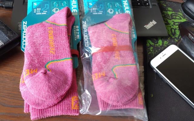媳妇冬天再不喊冻脚了,保暖舒适的赛乐羊毛袜体验