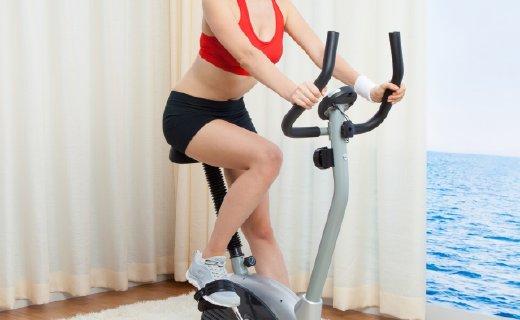 SUNNY HEALTH&FITNESS健身车:8档可调阻力,小巧不占空间