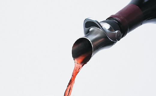 OXO不锈钢红酒塞:轻松锁住红酒香味,锥形口设计还能醒酒