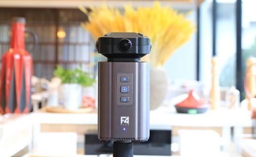 得图F4 PlusVR全景相机,8K级别画质!