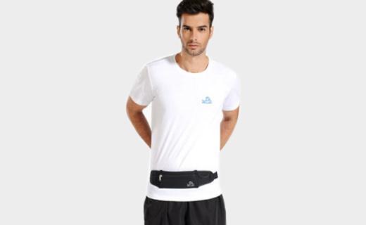 伯希和运动腰包:轻薄透气科技面料,耳机孔设计运动音乐不分离