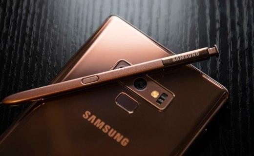 三星Note 9,音乐格调笔笔皆是,旋律跳动尽在S Pen