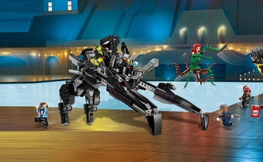 乐高蝙蝠机甲积木:造型丰富人偶众多,生动有趣玩不厌