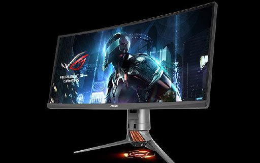 全景游戏超高画质,华硕这款曲面显示器让你酣战到底
