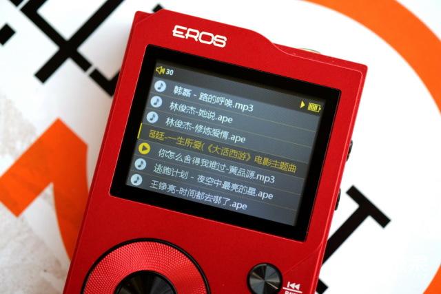 EROSHIFI播放器Kaigo爱国者出品HIFI无损音乐播放器MP3便携播放器惹火红