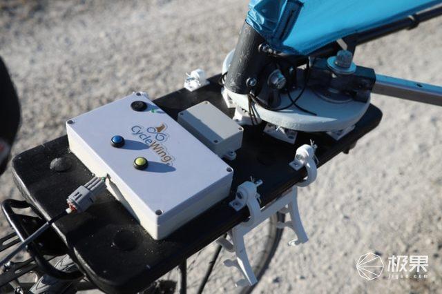 后架便携安装!自行车风力推进装置上线Kickstarter