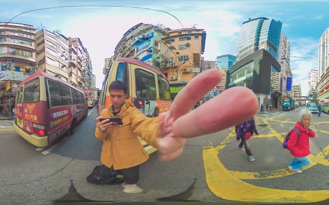 全度影像DuxCam M1,不一样视角下的香港和南极 | 视频