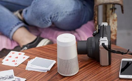 Bose SoundLink Revolve音响:360度环绕音效,IPX4级别防水机身