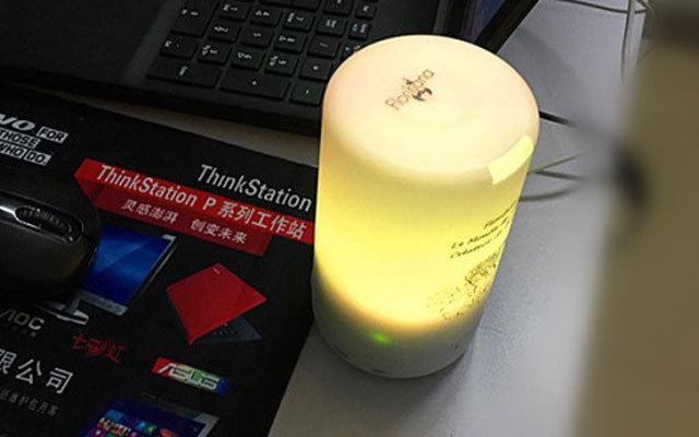 带加湿功能的情趣小夜灯,Florihana迷你香薰机 | 视频