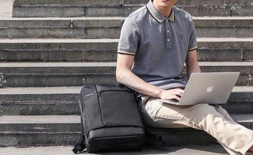 小米多功能电脑包:工学曲线舒适背负,大容量设计通勤首选
