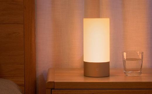 小米米家床头灯上线,1600万种灯光颜色