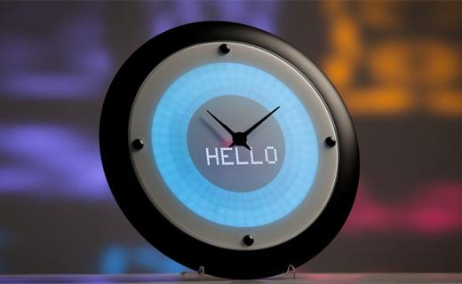 能提醒你下一步工作的智能钟,比私人秘书还好用