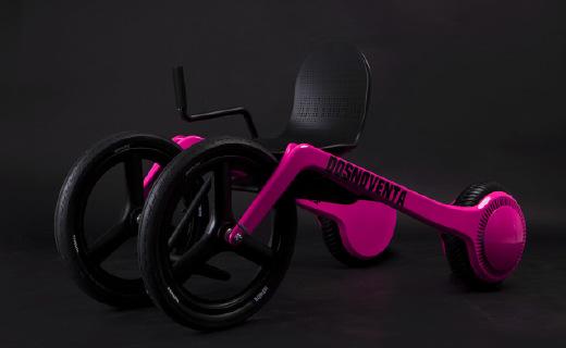 """轮椅界""""超跑"""":外形炫酷,高度可调!"""