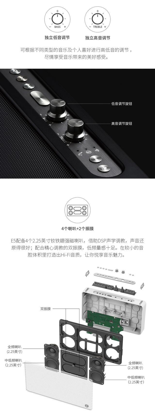 古古美美(GGMM)E5智能版无线音箱